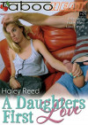 Haley Reed in A Daughters First Love Boxcover