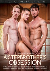 Stepbrother's Obession, A gay porn DVD from Icon Male