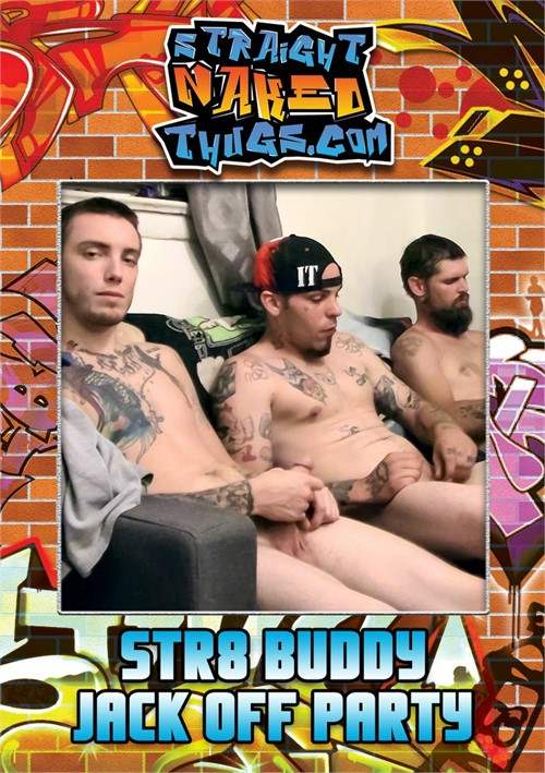 Str8 Buddy Jack Off Party Boxcover