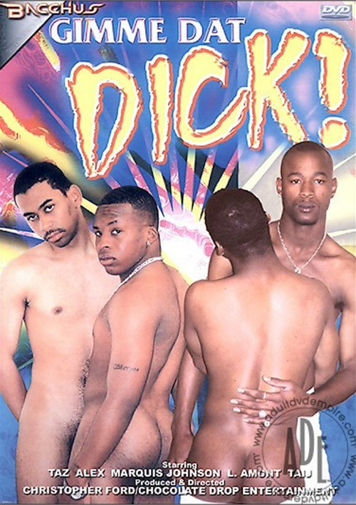 Gimme Dat Dick! Boxcover