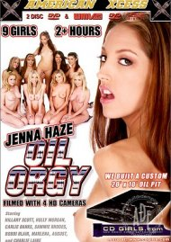 Jenna Haze Oil Orgy Porn Video
