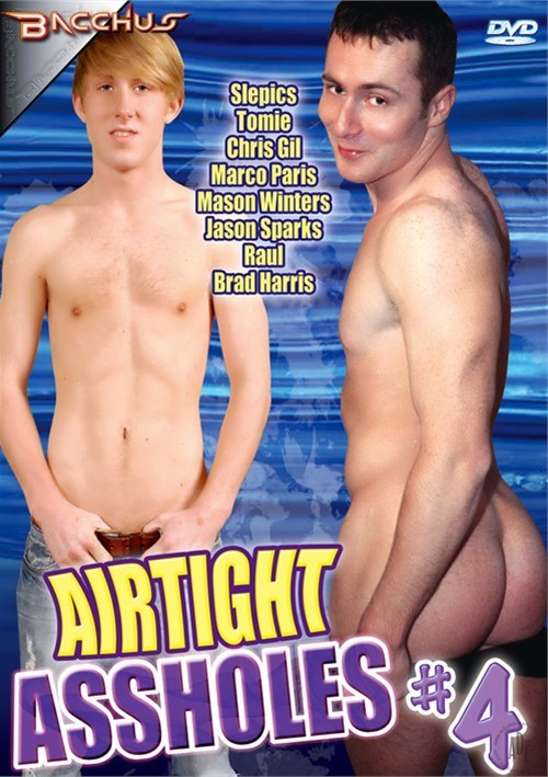 Airtight Assholes #4 Boxcover