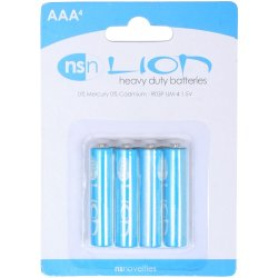 Lion Zinc Batteries - AAA - 4 pack Sex Toy