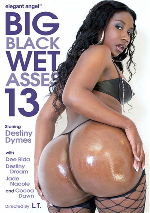 Big Black Wet Asses! 13 Boxcover