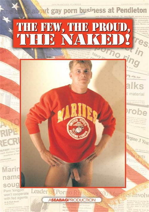 Few, The Proud, The Naked!, The Boxcover