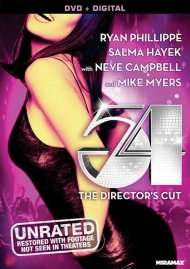 54: The Director's Cut gay cinema DVD from Lions Gate Films.