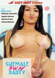 Shemale 3-Way Party Porn Video