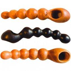 NobEssence: Linger Hard Wood Anal Beads