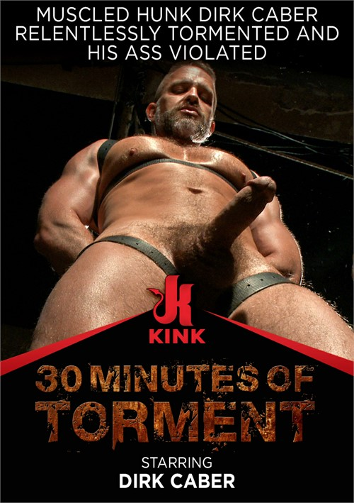 Muscled Hunk Dirk Caber Relentlessly Tormented and His Ass Violated Boxcover