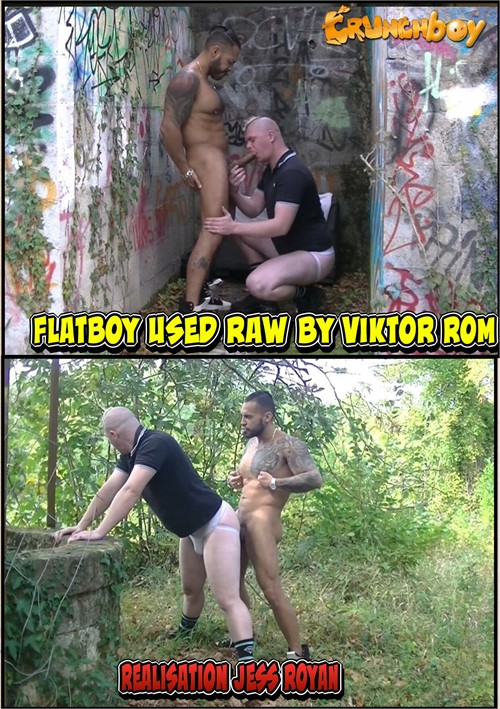 Flatboy Used Raw by Viktor Rom Boxcover