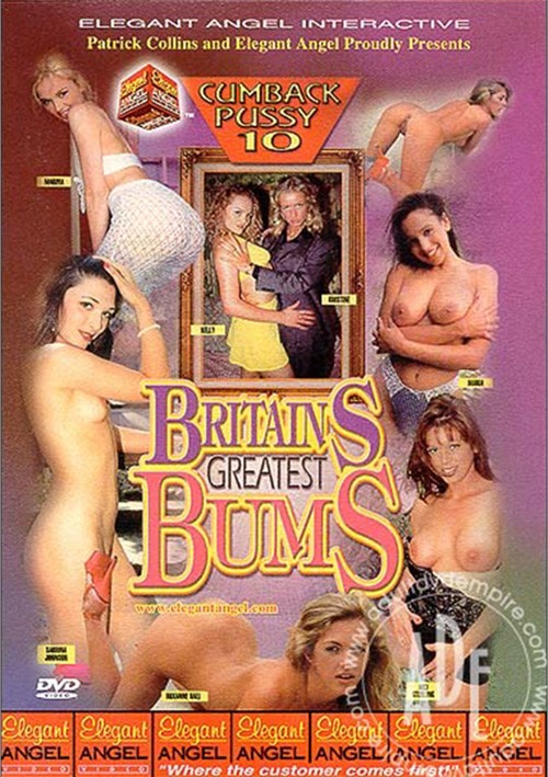 Cumback Pussy 10: Britains Greatest Bums Boxcover