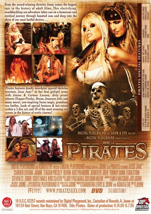 Back cover of Pirates