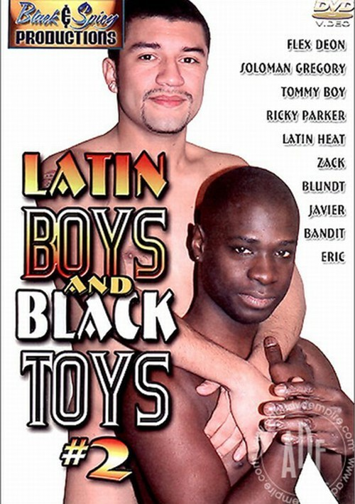 Latin Boys and Black Toys #2 Boxcover