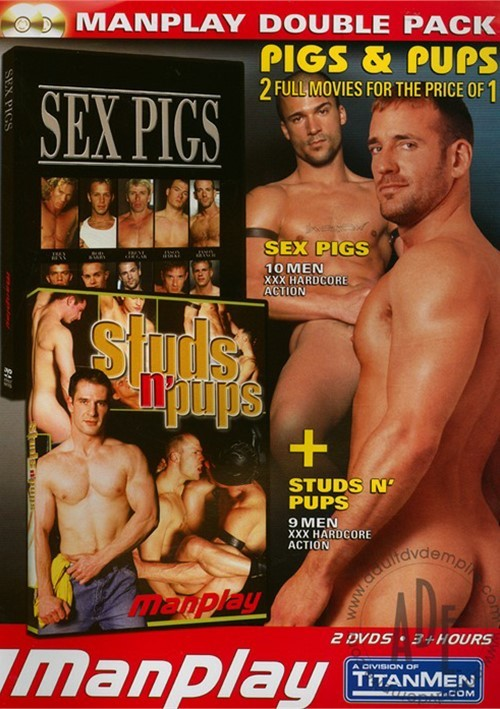 Manplay Double Pack Sex Pigs Studs N Pups