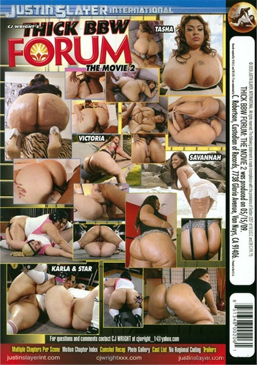 Thick bbw forum: the movie