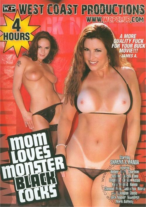 Mom Loves Monster Black Cocks