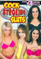 Cock Stroking Sluts (4 Pack) Porn Movie