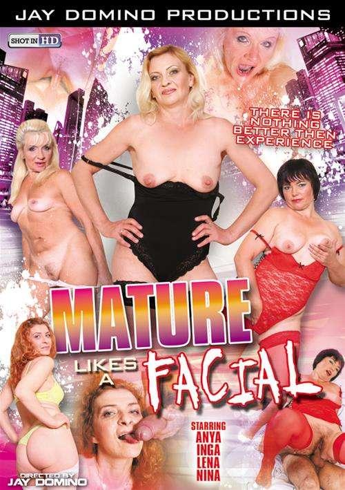Mature Likes A Facial