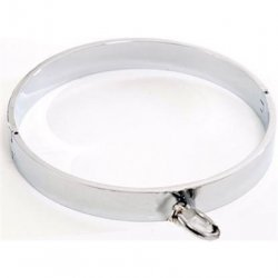 Rapture: Heavy Polished Stainless Steel Collar