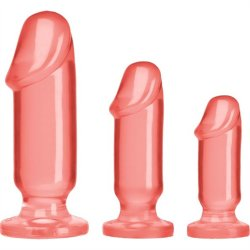 Crystal Jellies: Anal Starter Kit - Pink