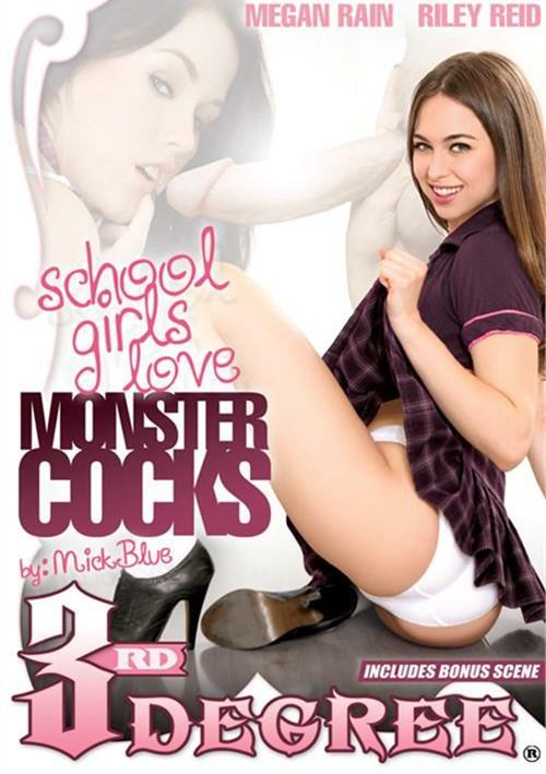 School Girls Love Monster Cocks