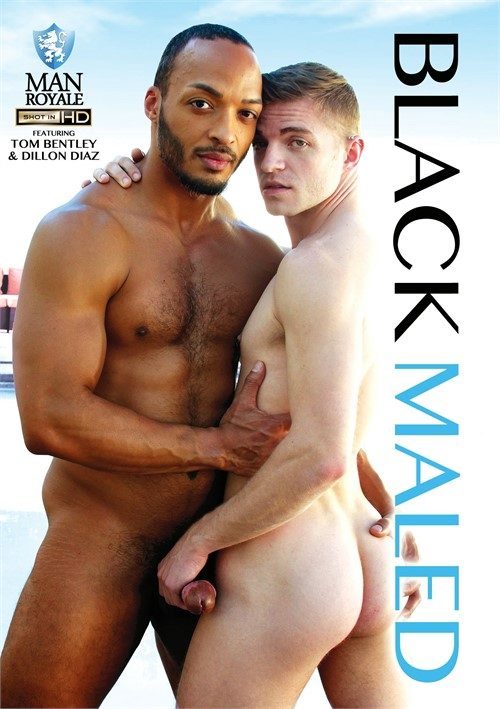 Black Maled Cover Front