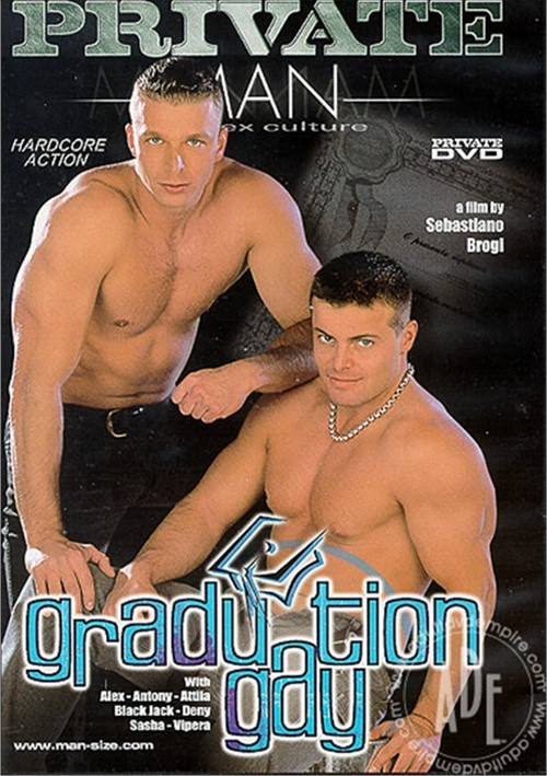 Private Man 6 Graduation Gay Cover Front