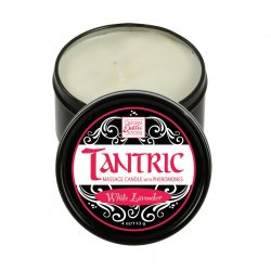 Tantric Soy Candle With Pheromones - White Lavender Sex Toy