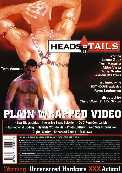 Heads or Tails 2 Cover Back
