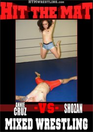 Annie Cruz VS Shozan Mixed Wrestling Porn Video