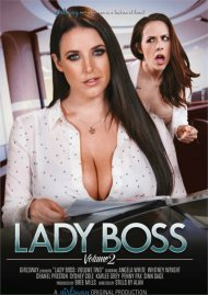 Lady Boss porn DVD starring Angela White shot in HD.
