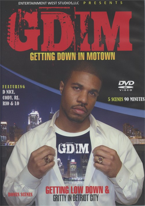 Getting Down in Motown Boxcover