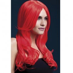 Smiffy: The Fever Wig Collection Khloe - Neon Red Sex Toy