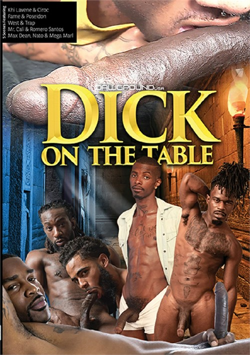Dick on the Table Cover Front