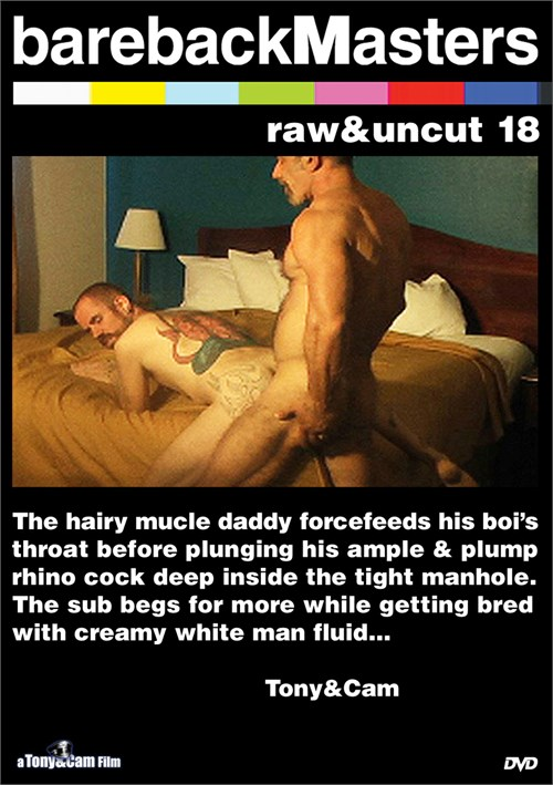 Bareback Masters: Raw & Uncut 18 Boxcover
