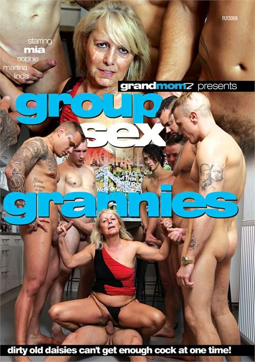 Granny groupsex