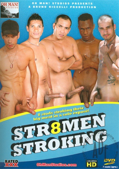 Str8men Stroking Boxcover
