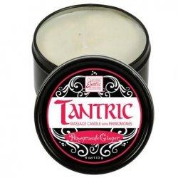 Tantric Soy Candle With Pheromones - Pomegranate Ginger Sex Toy