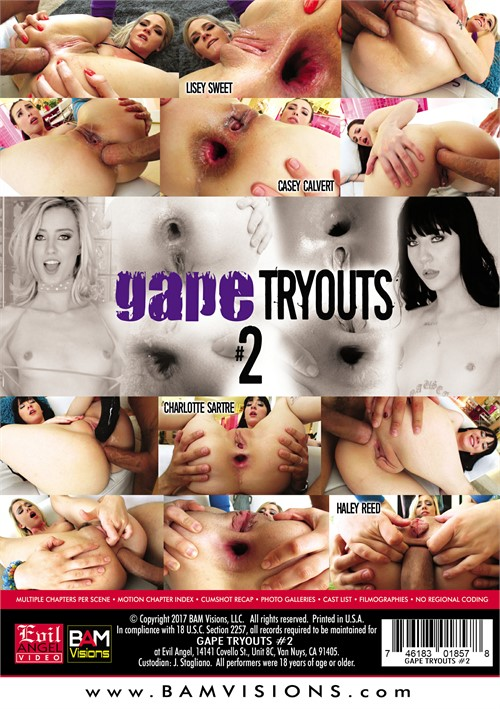 Gape Tryouts 2 2017  Adult Dvd Empire-4432
