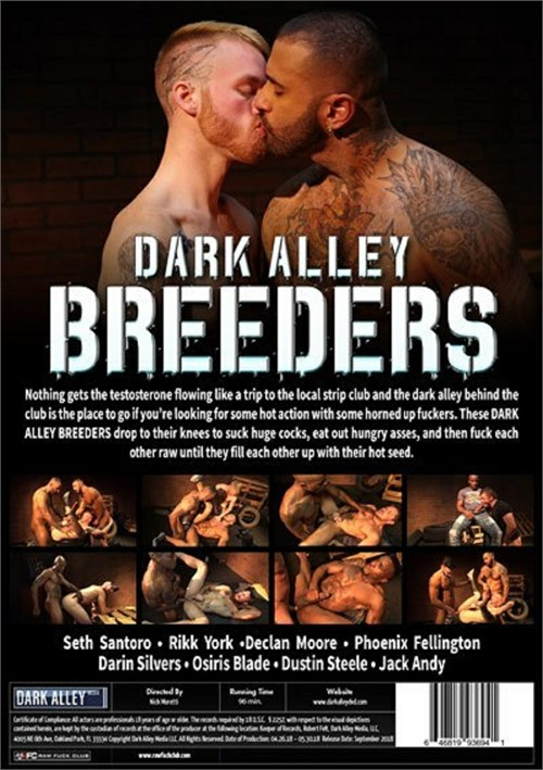 Dark Alley Breeders 1 Cover Back