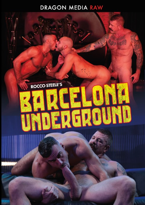 Rocco Steeles Barcelona Underground Cover Front
