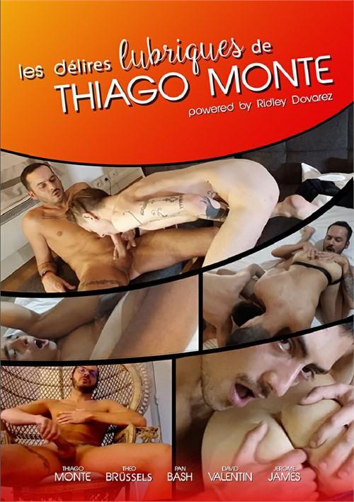 Les Delires Lubriques de Thiago Monte Boxcover