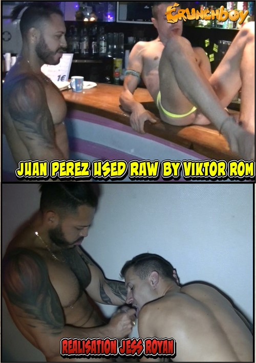 Juan Perez Used Raw by Viktor Rom Boxcover