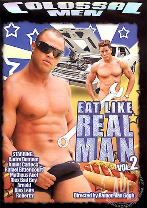 Eat Like A Real Man Vol. 2 Boxcover