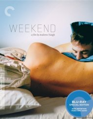 Weekend: The Criterion Collection Gay Cinema Movie