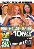 Ebony Cheerleading Competition 10 Pack Porn Movie