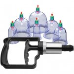 Master Series: Sukshen 2.0 - 6 Piece Cupping Set - Clear Sex Toy