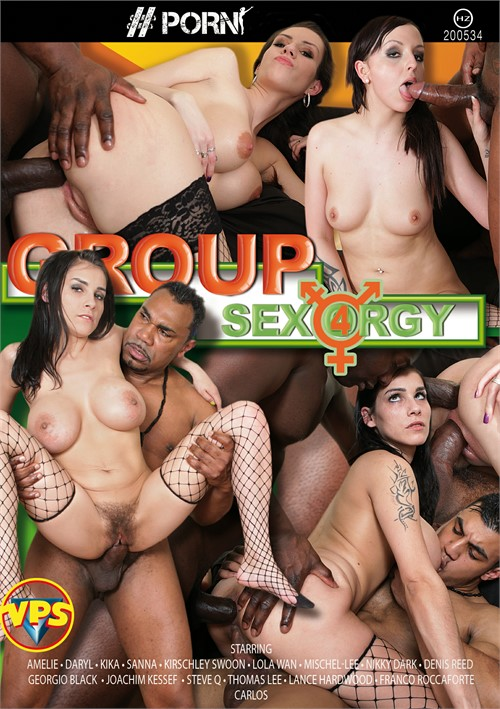 Group Sex Orgy Vol. 4