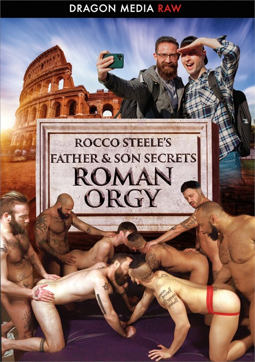 Rocco Steele's Father & Son Secrets: Roman Orgy Boxcover