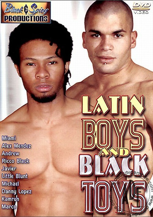 Latin Boys and Black Toys Boxcover